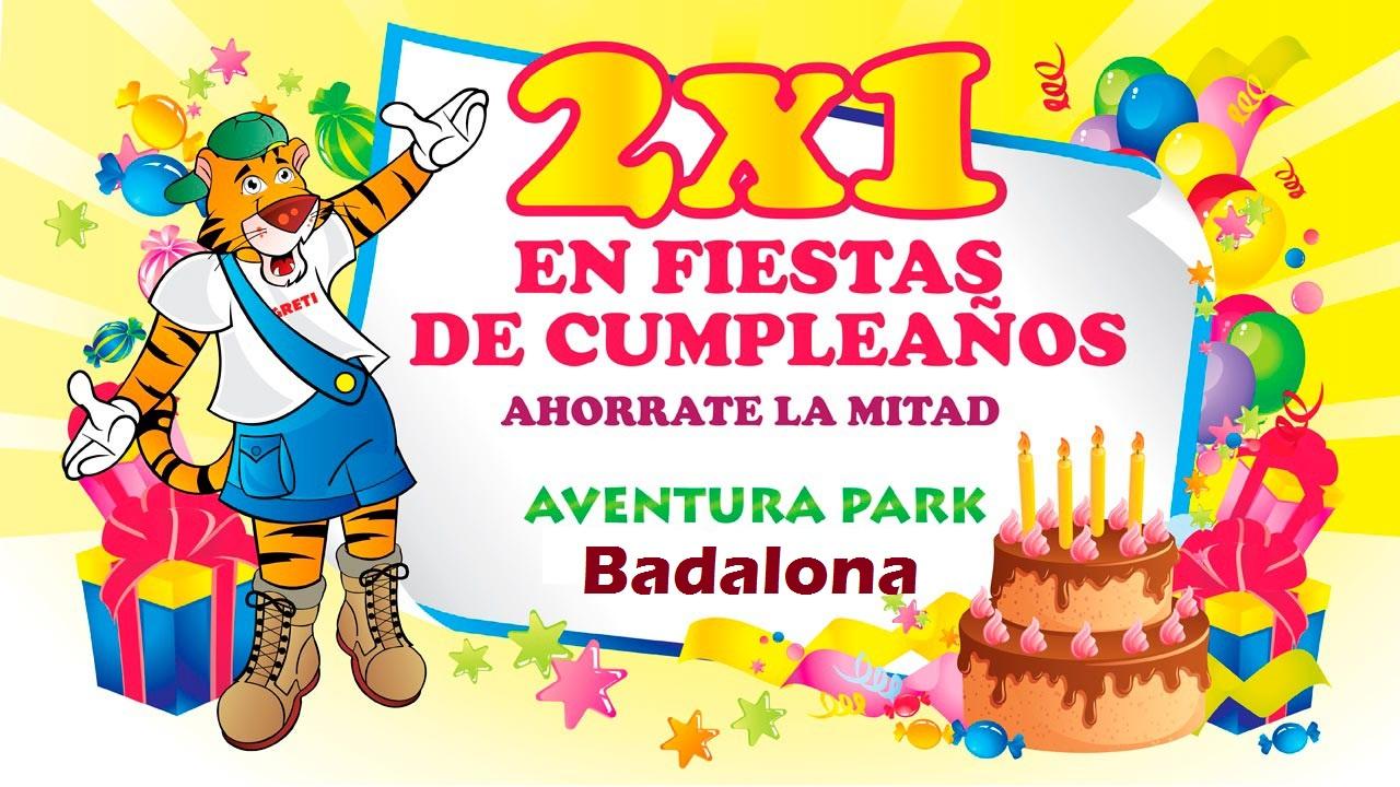 Ofertas fiestas infantiles – Aventura Park Badalona