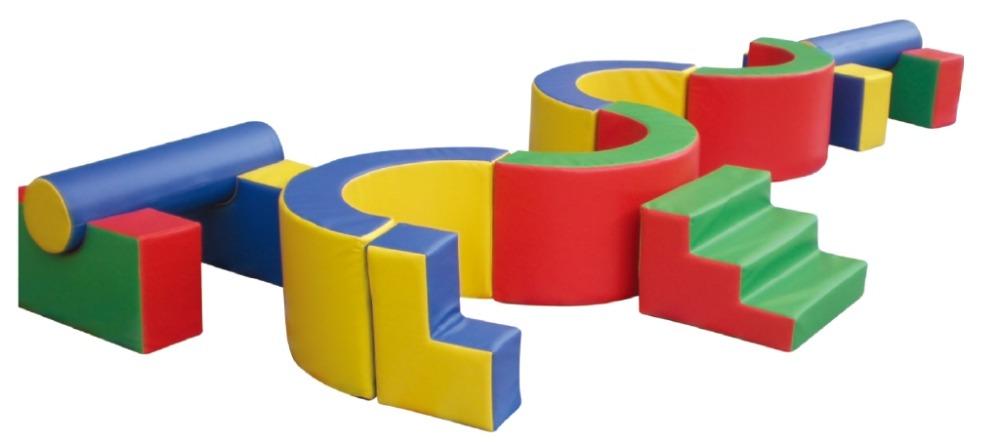 La importancia de los juegos blandos de psicomotricidad en los parques infantiles