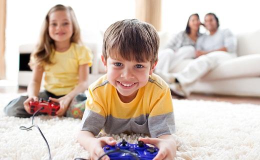 Los peligros de los videojuegos en el cerebro de los niños
