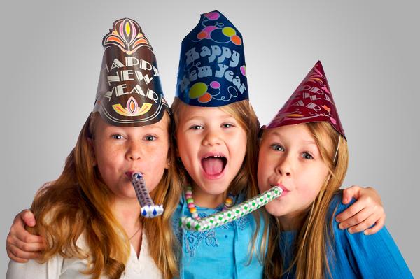 Cómo organizar una Nochevieja con niños